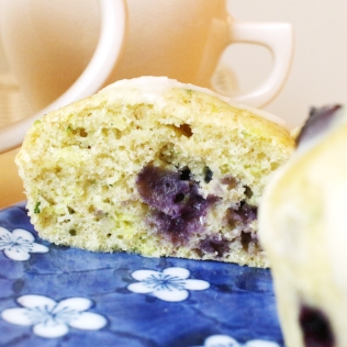 Blueberry Lemon Zucchini Loaf