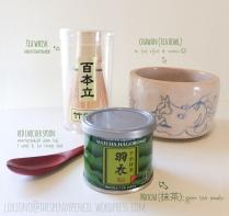 Green tea and tools